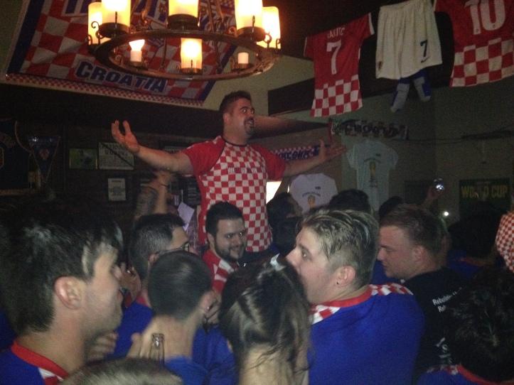 Croatian super fan