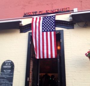 Kent Ale House in Williamsburg after the USA tied Portugal :'-(
