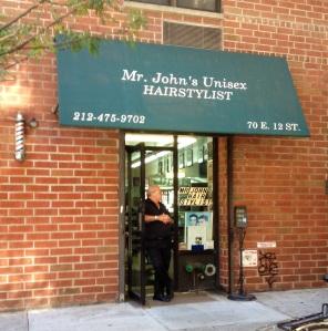 Mr. John, the Old Lady's Barber Shop