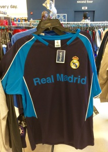 The most boring jersey ever manufactured, with 'Real Madrid' again written in Helvetica type.