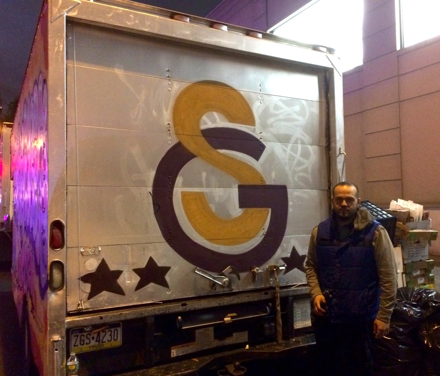 The Galatasaray Truck near Union Square