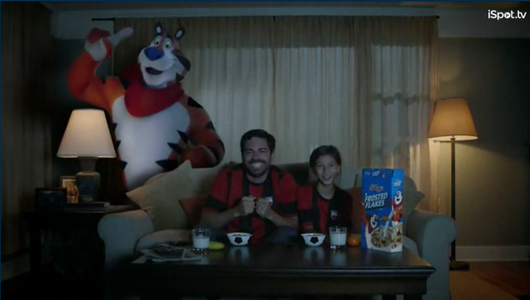 frosted flakes soccer commercial – Soccer All Over The City