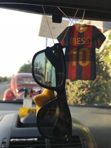 A Messi freshener