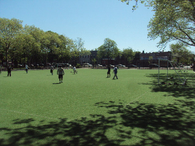 grover cleveland playground field